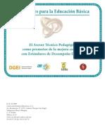 ATP Promotor Estandares