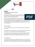 HRM NOV 2009 solved paper tybms