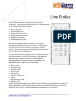 CAD Line Styles