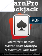 Learn Pro Blackjack - How to Play, Master Basic Strategy and Maximize Your Odds at Blackjack