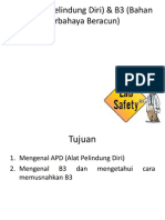 APD (Aalat Pelindung Diri) & B3