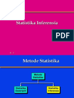 STATISTIKA INFERENSIA 1