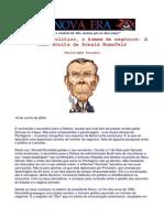 A Face Oculta de Donald Rumsfeld - Por Trás do político, o homem de negócios