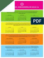 Calendar Mirodeniilor 2013