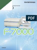 Catálogo F-7000