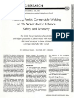 9% Nickel Steel Welding