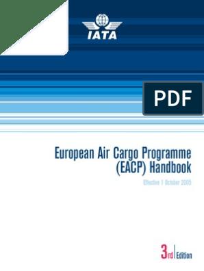 5 Iata Eacp Program | Dangerous Goods | Cargo
