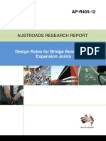 Design Rules for Bridge Bearings and Expansion Joints