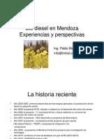 Bio Diesel en Mendoza Experiencias y Perspectivas