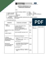 SESION aprendizaje  Nº 21 VELAS CTA-3ro