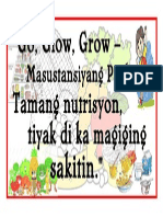 slogan for nutrition month
