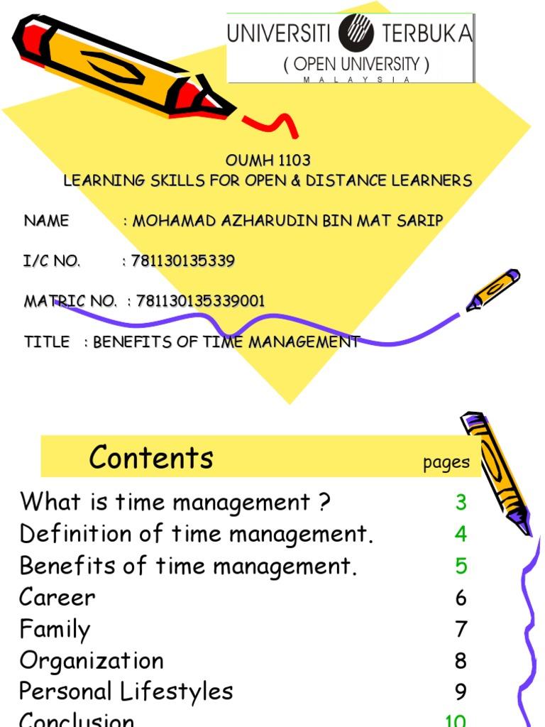 time management | time management | epistemology