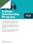 New York Times Scholarship