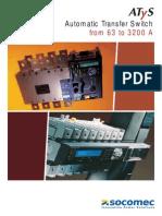 Socomec ATySM Catalog En