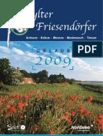 Urlaubsmagazin Sylter Friesendörfer 2009