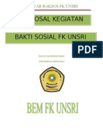 Proposal Bakti Sosial Fix