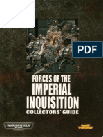 Forces of the Imperial Inquisition - Collectors Guide