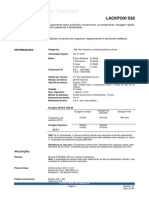 BOLETIM TÉCNICO LACKPOXI S 38 BRANCO 038A-6374