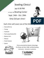 Basics of Bowling Clinics