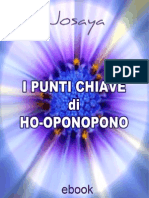 I Punti Chiave Di Ho-Oponopono - Josaya