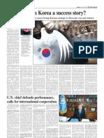 Is War in Korea a Success Story?