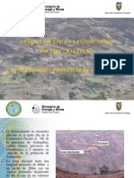 Deslizamiento en Pacha-Alausi