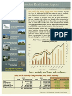 July 2013 Nantucket Real Estate Market Update