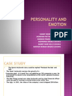 Personality Andvalues