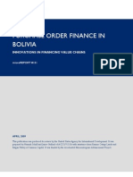 mR 151 - Purchase Order Finance in Bolivia