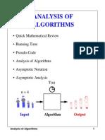 Analysis Algorithm Notes1
