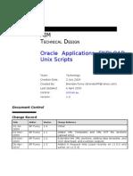 Oracle Applications FNDLOAD Unix Scripts