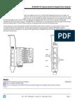 HP NC364T PCI Express Quad Port Gigabit Server Adapter