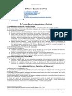 Proceso Ejecutivo Peru