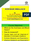 Acid base disorders for Vet. Students
