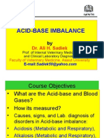 Acid base disorders for Vet. Students
