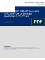 mR 142 - In-Depth End Market Analysis and Bottom-Up Business Environment Reform