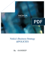 Nokia s Business Policy and Strategy
