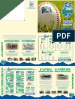 2013 Lexington Legends Tickets & Group Brochure
