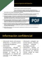 acceso a la información y procedimiento administrativo