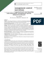 Bundling Management Control Innovations