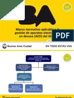 8 - Marco normativo aplicable a la gestión de aparatos electrónicos en desuso (AED) del GCBA - APRA