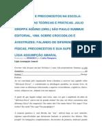 Texto 19 DIFERENÇAS E PRECONCEITOS NA ESCOLA Aquino, J.G EI