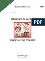 Salomão Rovedo - Literatura de Cordel