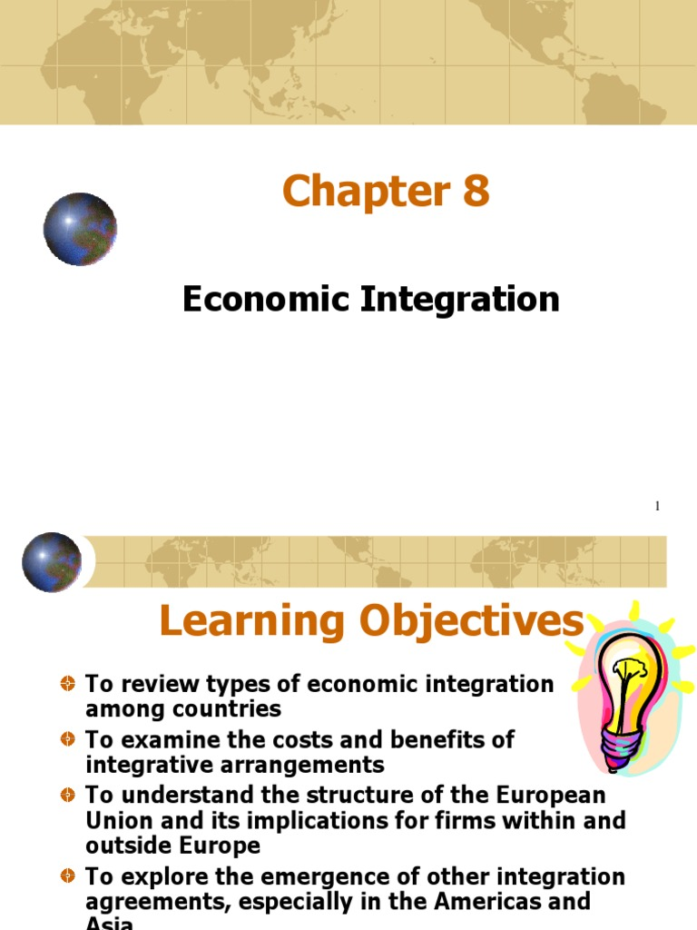 types of economic intergration