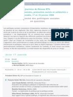 RT6 Grenoble 2008 Programme