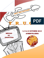 Plaquette TRUC Octobre 2013
