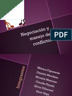DIAPOSITIVAS Conflicto y Negociación