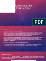 Portafolio de Evaluación. Puy Rumbo