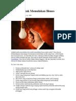 59 Idea Untuk Memulakan Bisnes