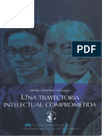 Adolfo Sanchez Vazquez-Una Trayectoria Comprometida